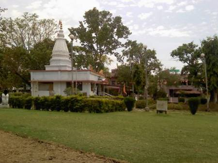 Temple at Reshimbag NIT Garden