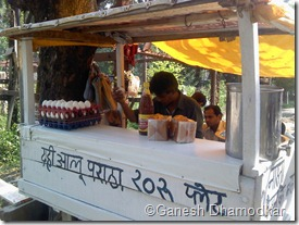 Egg Paratha Stall at IT Park, Nagpur.